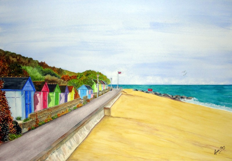 Folkestone Beach Huts - SOLD