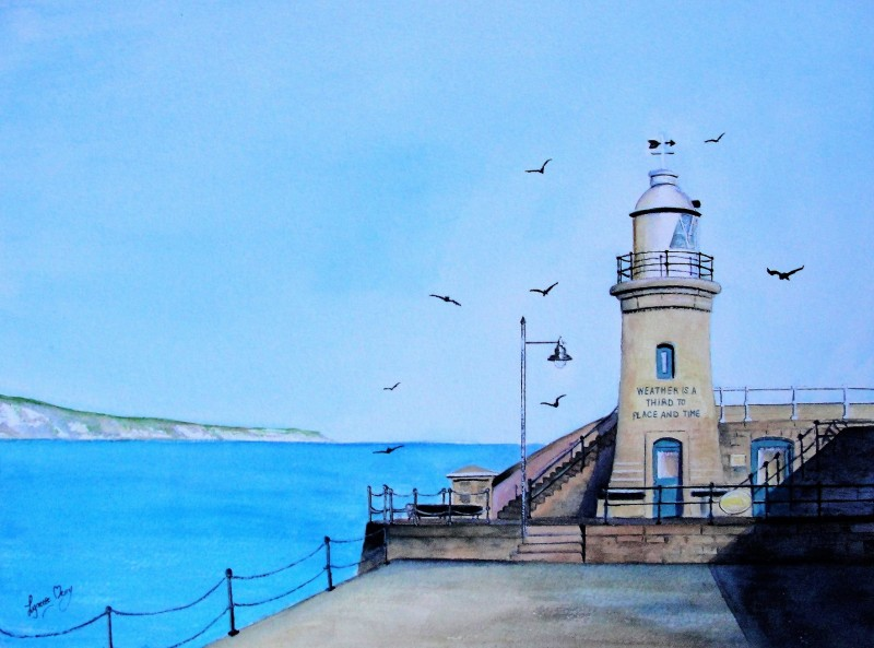 Harbour Lighthouse - Giclee Print - £35